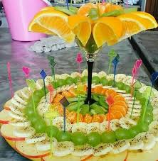 How To Decorate Salad Tray 100 best fruit decor images on Pinterest Fruit carvings Vegetable 24