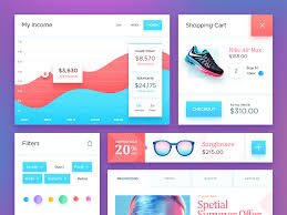 Free Psd Ecommerce Ui Kit By Neststrix Design Dribbble Dribbble