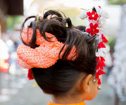 七五三におすすめのヘアスタイル晴れ着姿をもっと華やかに Mama