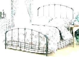 wrought iron bed frame full – goldentrident