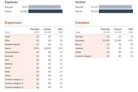 Google Spreadsheets Budget Template 11 Budget Templates And Spreadsheets To Help Organize Your
