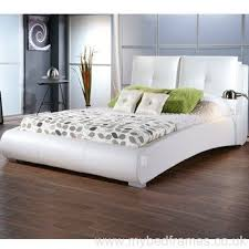 Dreamland Sophia White Faux Leather Bed Frame - The World of Beds