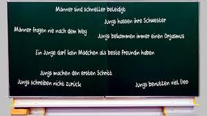 Liebe Jungs Das Wissen Mädchen Schon über Euch Suedostschweizch
