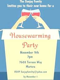 New Housewarming Card Template Gift Luxury Party Invitation