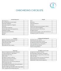 New Hire Checklist Employee Template Exit Companiesuk Co
