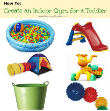 diy play gym a fun way to help toddlers burn off energy during the