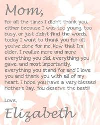 274 best my mother images on pinterest mother quotes happy letter to my mom on her birthday letter to my mom on her birthday