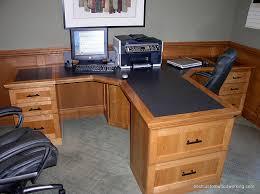 cherry custom home office desk. I Love 2 Person Desks For An At Home Office. Cherry Custom Office Desk