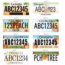 Georgia License Plates Designs In God We Trust Wins Vote But State Vetos