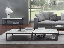 low marble coffee table for living room stone marble coffee table by marelli