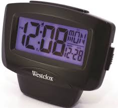 westclox 72020 easy to read alarm clock