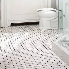 Contemporary White Bathroom Tiles Mosaic I In Simple Design