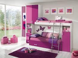 Pretty Pink Kid Bunk Bedroom Furniture Teenage Bedroom Furniture Ideas53