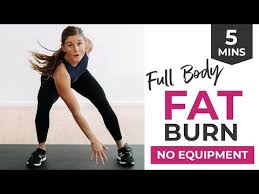 5 minute fat burning workout chipper