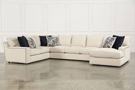 Leather Sectional Living Room Furniture Glamour Ii 3 Piece Sectional Living Spaces