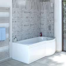 Trojan Concert | P Shape Right Hand | Shower Bath | 1675 x 850