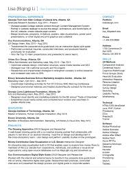 Tableau Resume Interaction Designer Resume RESUME 87