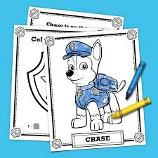 Nice Decoration Printable Paw Patrol Coloring Pages Free Happiness