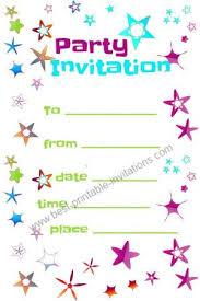 Free Printable Birthday Invitation Templates For Kids Printable Birthday Party Invitations Templates Download Them Or Print