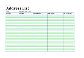 company phone list template 40 phone email contact list templates word excel template lab
