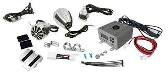 lanzar get some bump on your bars lanzars motorcycle atv audio kits up to 1400 watts lanzars opti kits include speakers amplifiers wiring and all the