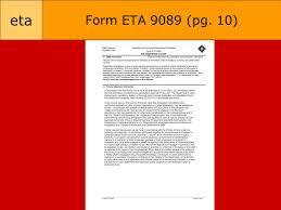 Re Engineered Permanent Labor Certification Program Perm Eta