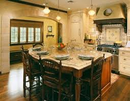 Floating Floor In Kitchen Kitchen Island Design Ideas Granite Top Stained Wooden Rack Bottle
