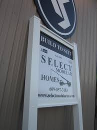 select modular homes job site signs coastal sign design llc here are few photos of the complete pvc post and rail job site sign we made for select modular homes while most job site signs are 3 x 2 this one is 3