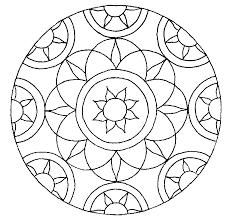 Mandala Kleurplaat Bloemen En Hartjes Kleurplaat Bloemen 26
