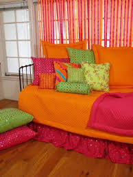 Brightly Colored Teen Girl Dorm Daybed Set Collection Teen Magnificent Teens Bedroom Designs Set Collection