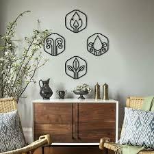 contemporary metal wall art basic