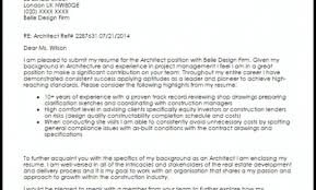 Architect Cover Letter Sample Livecareer Architecture Cover Letter