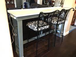 Ana White Behind sofa tablebarwork desk DIY Projects