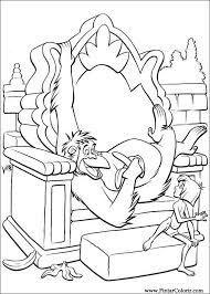 Drawings To Paint Colour The Jungle Book Print Design 027