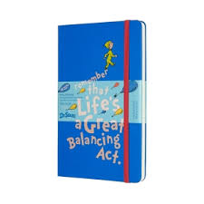 dr seuss <b>limited edition</b> 18-month large weekly <b>notebook</b> planner