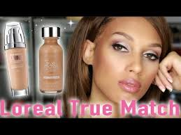 l oreal true match lumi foundations review