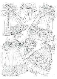 Barbie Paper Dolls Print Outs Paper Doll Coloring Pages Prin Dolls