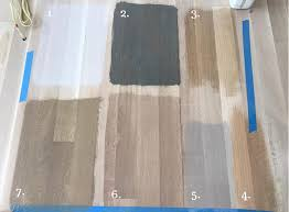 Bona Fast Dry Stain Color Chart Time To Choose A Stain Color For White Oak Flooring Mommy