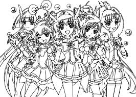 Show them the proper way how to color. Glitter Force Coloring Pages Best Coloring Pages For Kids