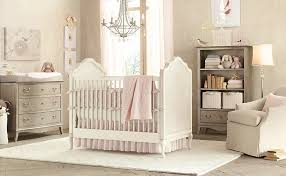 vintage nursery furniture. Furniture : Vintage Style Chic Baby Decorations Room Come With Beige White Bamboo Crib Foamy Square Mattress And Cream Squared Nursery