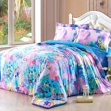 cute girl comforters teal blue and mint green fl theme pink bedding gold nursery