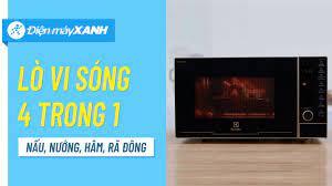Lò vi sóng Electrolux: nấu nướng khỏe re, khỏi lo tốn chỗ, quá là tiện  (EMG25D89GGP) • Điện máy XANH - YouTube