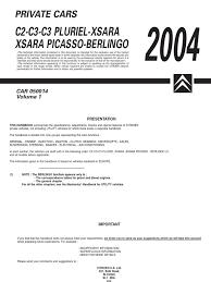 Citroen C2 2004 - Handbook | Diesel Engine | Motor Oil