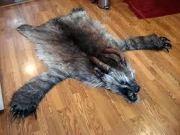 bear head rug faux bear skin rug with head faux fur bear skin rug with head
