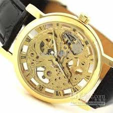 men mechanical watches automatic gold or silver stainless leather 1 0x0 jpg