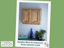 wooden bathroom wall cabinet modern