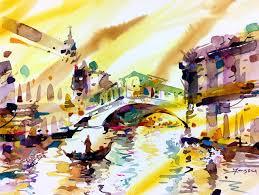 Watercolor Around the World - American Watercolor
