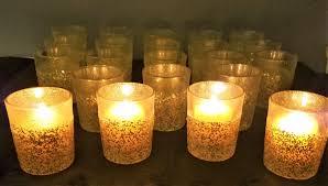 Wedding Tea Light Holders In Bulk Gold Glitter Candle Wedding Favor Table Favours Wedding