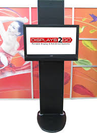 Portable Display Stands For Exhibitions Gorgeous TV 332 Go Exhibition TV Stand Displays 332 Go