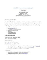 Ultimate Sales Associate Objective Resume About Sales Associate